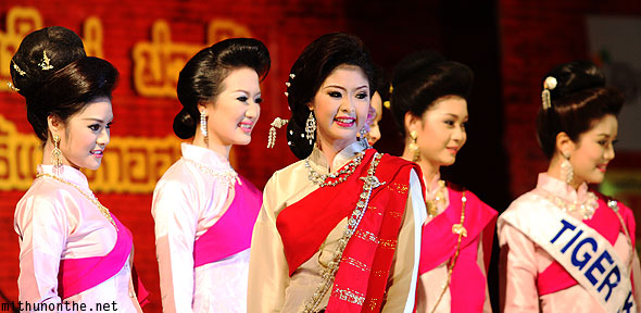 Chiang Mai Miss Loy Krathong beauty contest
