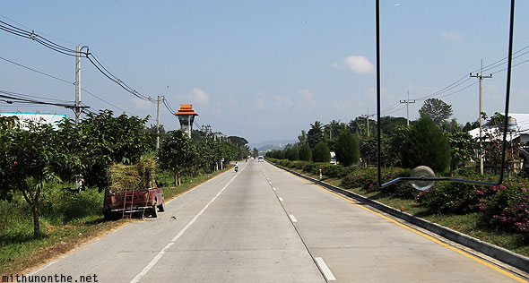 Leaving Chiang Mai for Chiang Rai highway