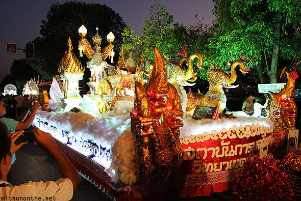 Loy Krathong ornate float