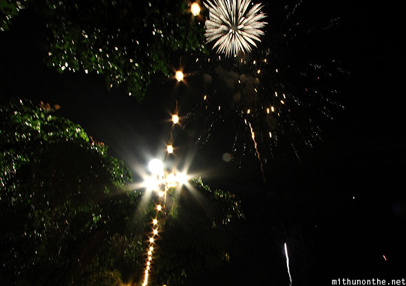 Loy Krathong festival fireworks last day Chiang Mai