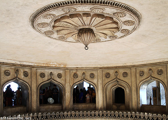 Charminar main hall ceiling design Hyderabad