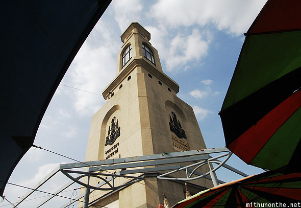 Chatuchak market Clock Tower Bangkok