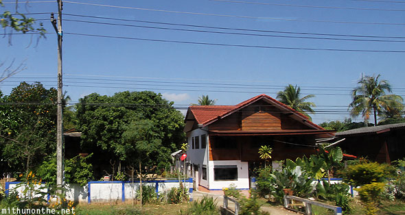 Chiang Saen local house Thailand