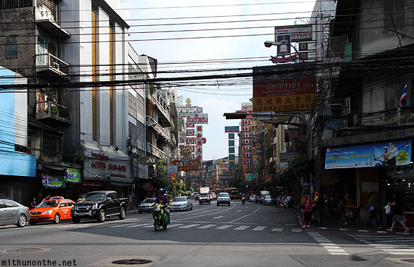 Chinatown Bangkok morning Thailand