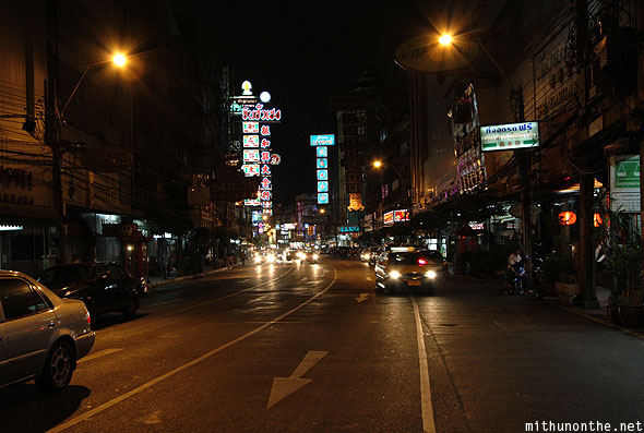 Chinatown main road Bangkok