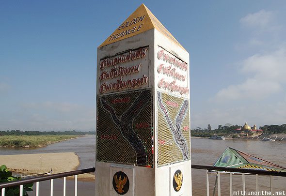 Golden Triangle Mekong river Chiang Rai Thailand