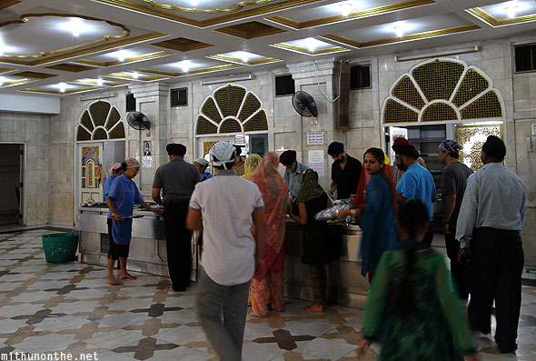 Gurdwara Indian food hall Bangkok
