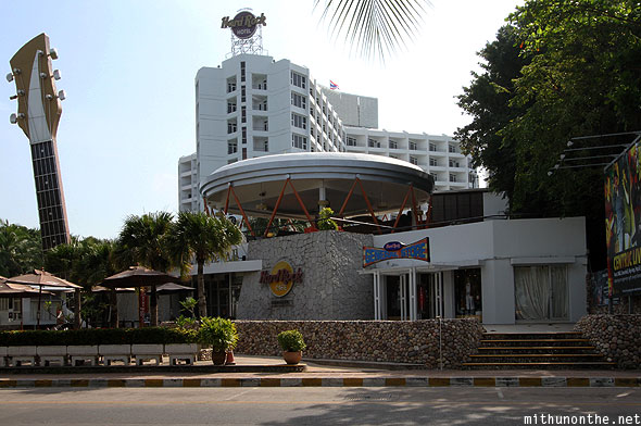 Hard Rock Hotel beach road Pattaya