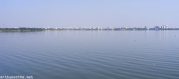 Hussain Sagar lake Hyderabad India