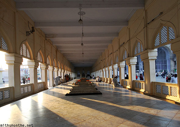 Mecca Masjid entrance hall Hyderabad