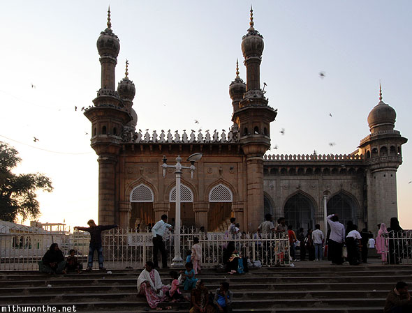 Mecca Masjid mosque Hyderabad India