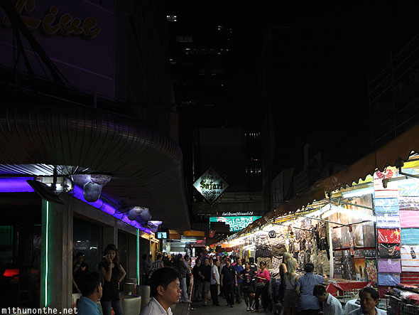 Patpong night market live bar Bangkok