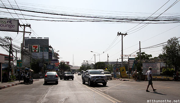 Pattaya 2nd road traffic Thailand