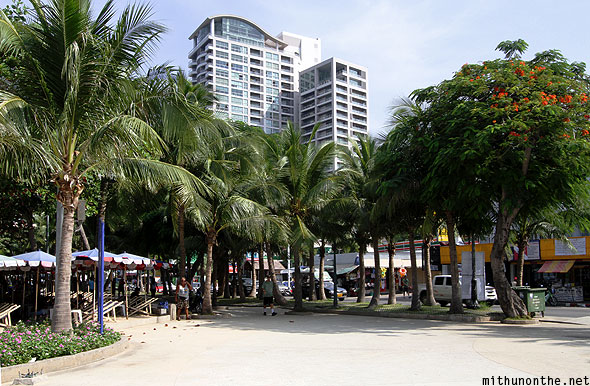 Pattaya beach facing condo Thailand