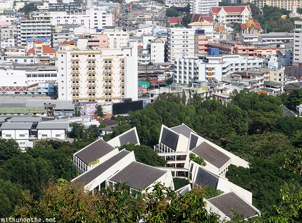Pattaya city buildings Thailand