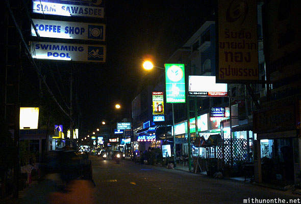 Pattaya night bars Sawadee hotels