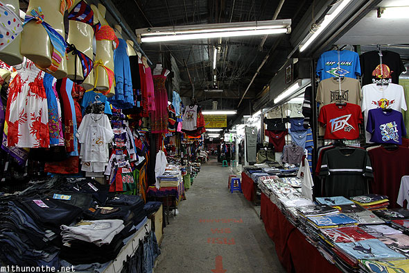 Pattaya street shop clothes Thailand