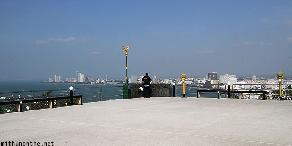 Pattaya viewpoint of bay Thailand