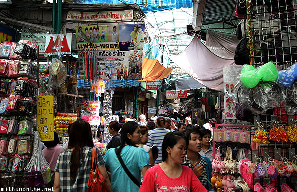 Sampeng Chinese market accessories toys Bangkok