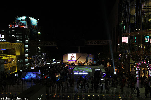 Siam Absolut ice bar concert Bangkok Thailand
