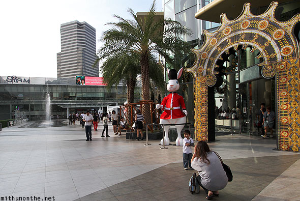 Siam Center Christmas decorations Thais Bangkok