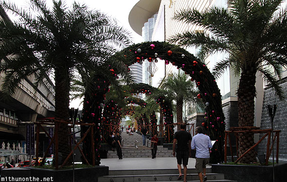 Siam Paragon Christmas mall decorations