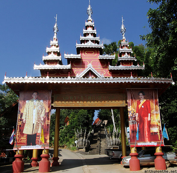 Temple entrance near Golden Triangle