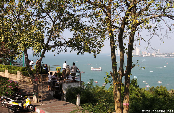 Viewpoint hill Pattaya bay