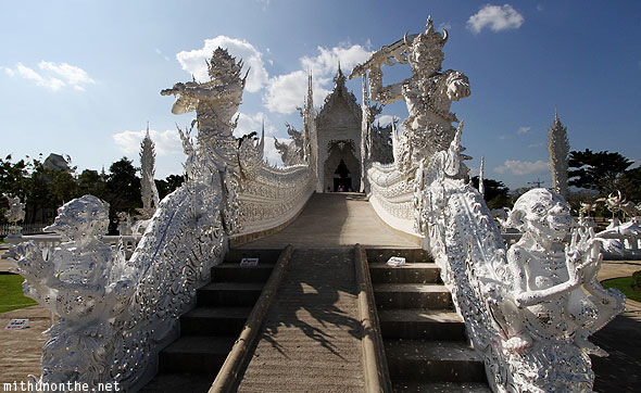 Wat Rong Khun White Temple buddhist hindu temple