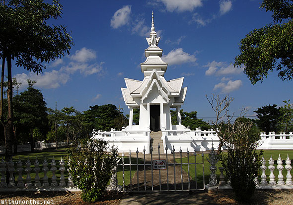 Wat Rong Khun white temple no entry