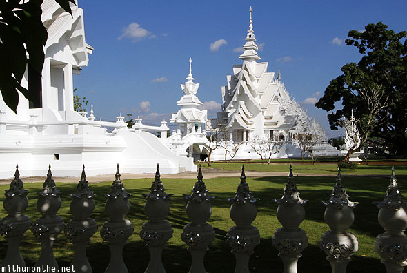 White Temple Wat Rong Khun architecture Chiang Rai