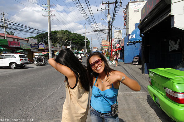 Angeles City walking street girls Philippines