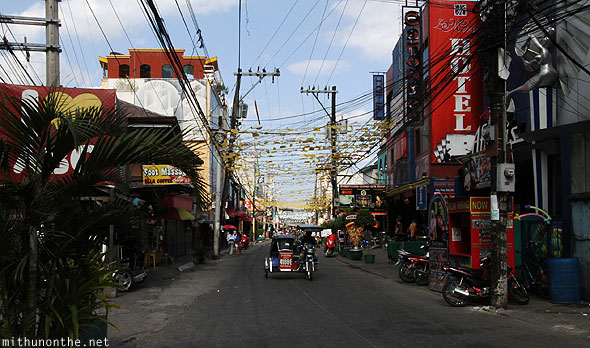 Angeles City walking street Philippines