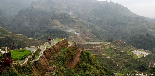 Banaue rice terrace farm Ifugao
