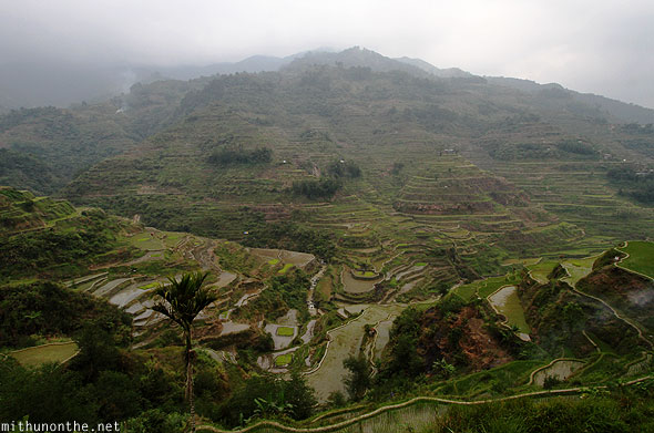 Banaue rice terraces first viewpoint Philippines