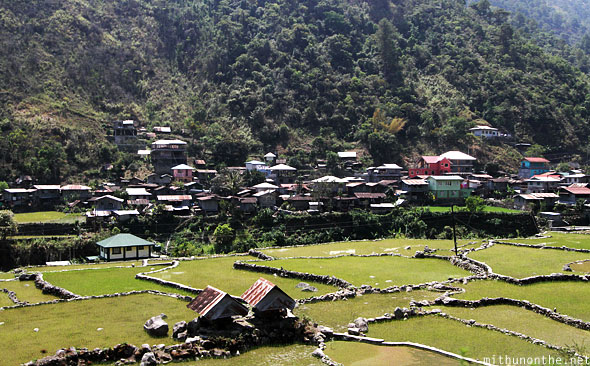 Banaue to Bontoc Ifugao village houses