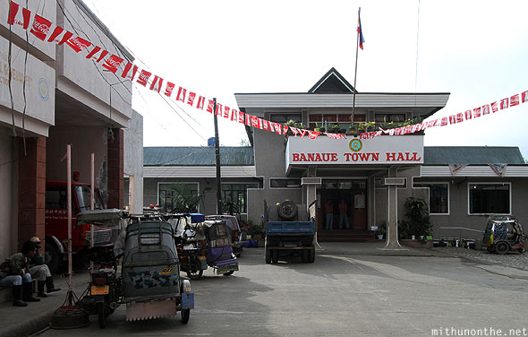 Banaue town hall fire station