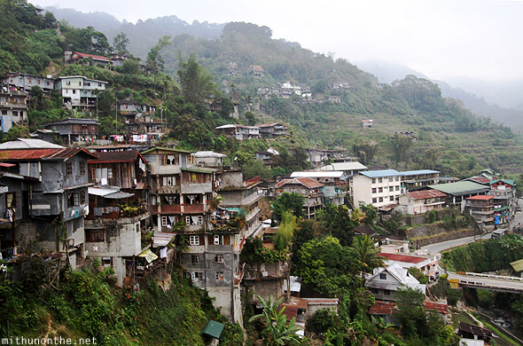 Banaue town houses lodges hilltop Luzon Philippines
