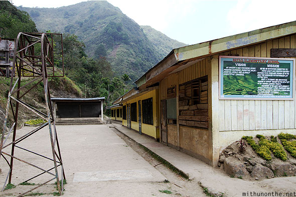 Batad Elementary school village basketball court