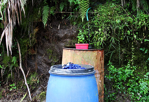 Batad hill water collection Ifugao Philippjnes