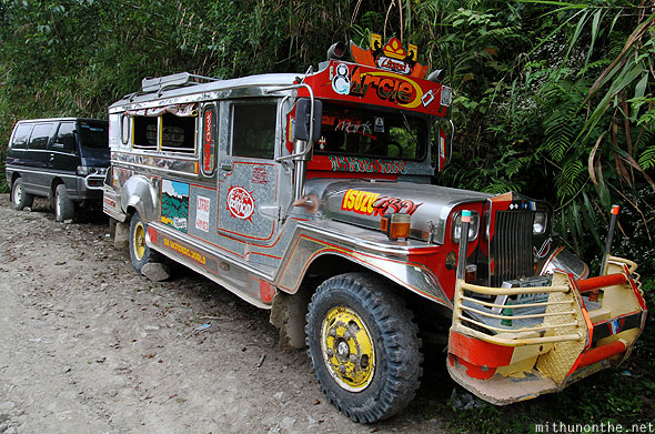 Batad junction jeepney art Banaue Ifugao Philippines