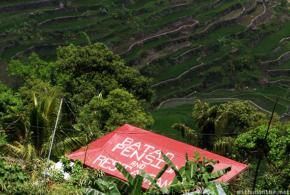 Batad Pension Inn restaurant Batad rice terraces
