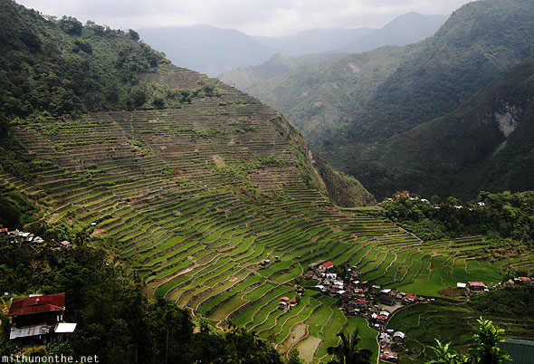 Batad rice terrace village Banaue Ifugao