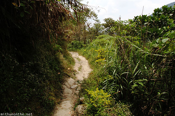 Batad trek path Banaue Luzon