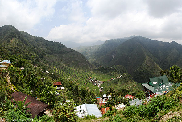 Batad village Banaue Philippines panorama