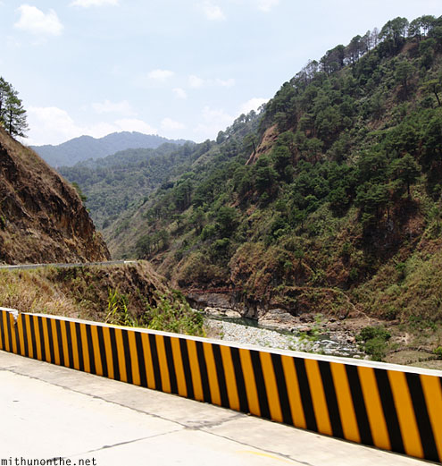 Bontoc to Sagada road
