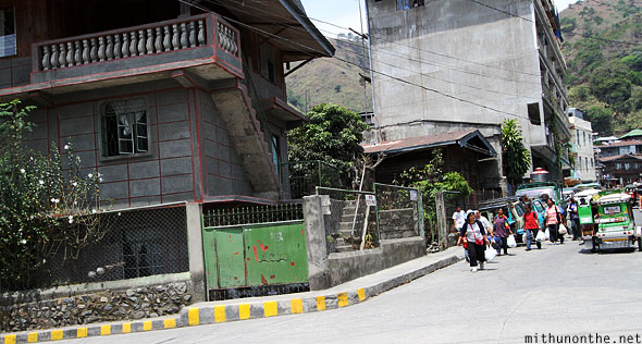 Bontoc town people