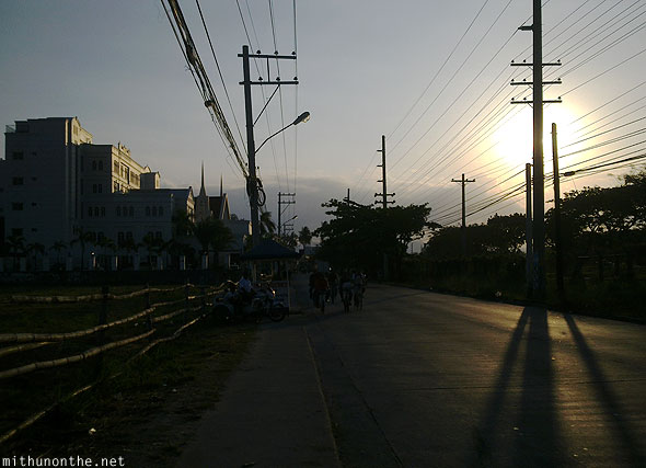 Don Juico avenue Angeles City afternoon