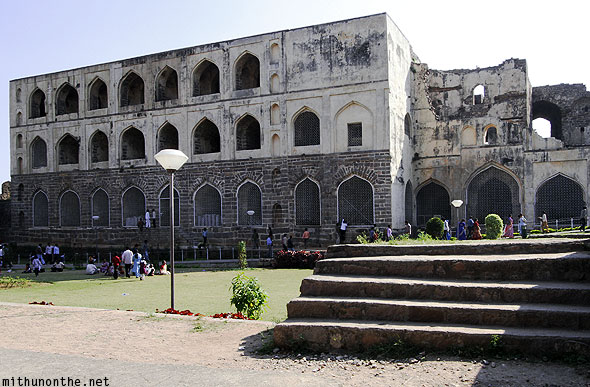Golconda Fort palace complex Hyderabad India