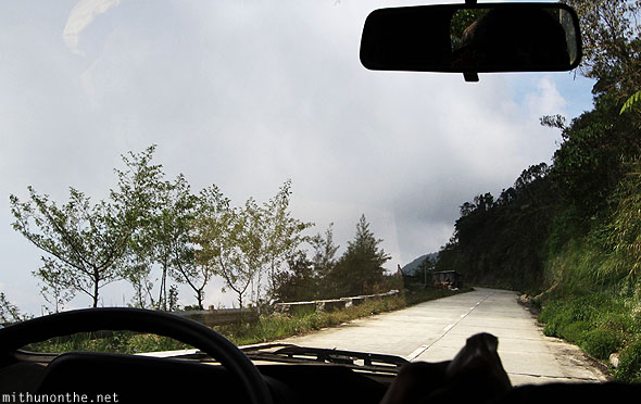 Hill highway to Bontoc